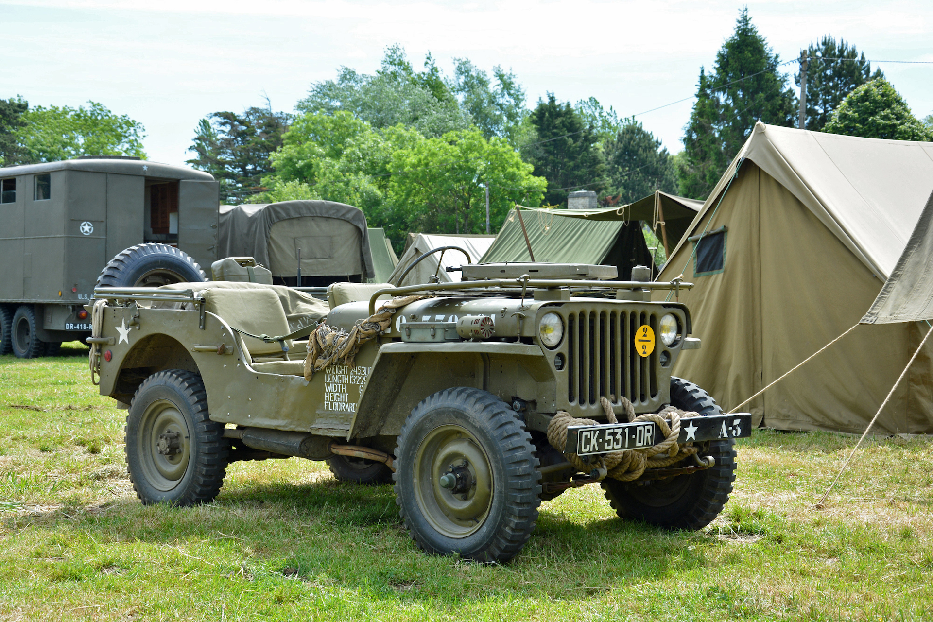 Role call: In Normandy, D-Day Jeeps left for dead brought France