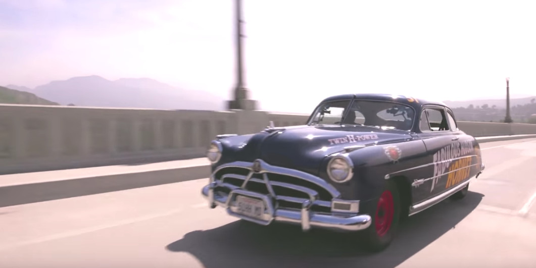 The Hudson Hornet was the fastest American car of its day