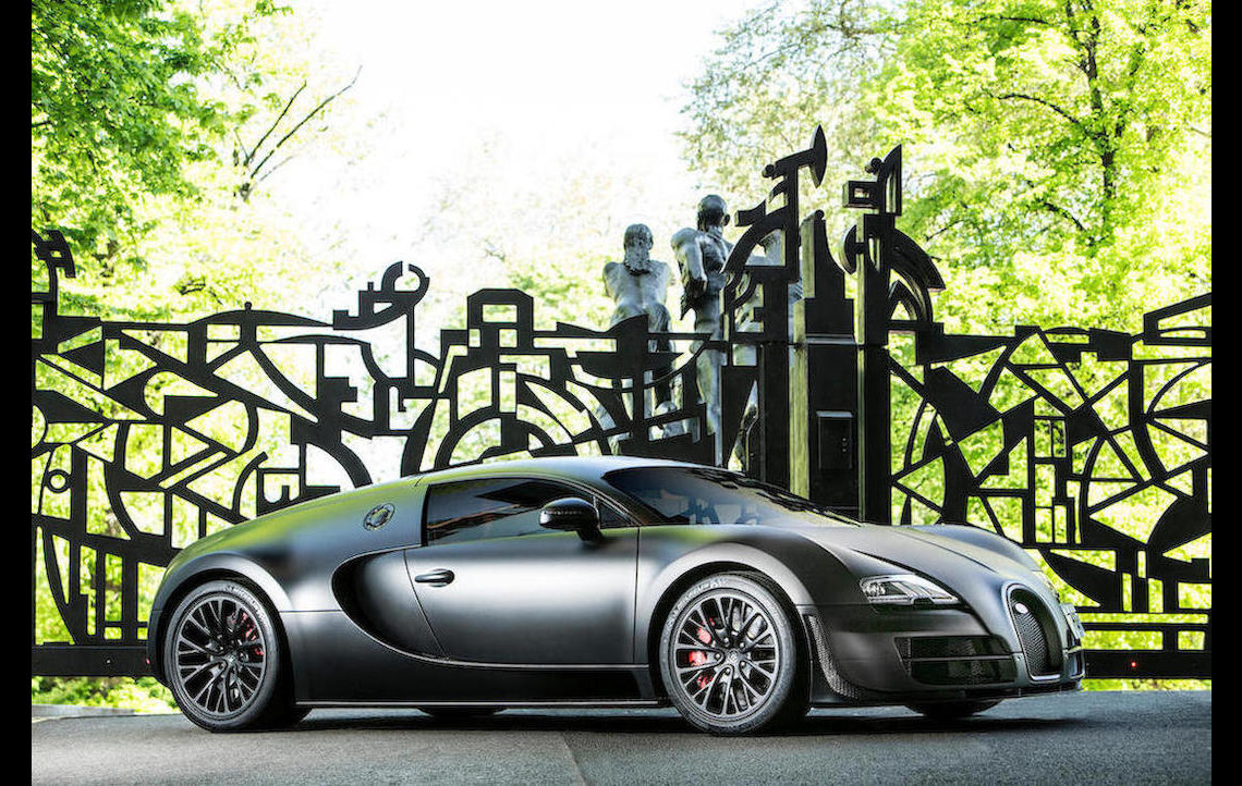 Last Bugatti Veyron Super Sport Built Heading To Auction At Goodwood