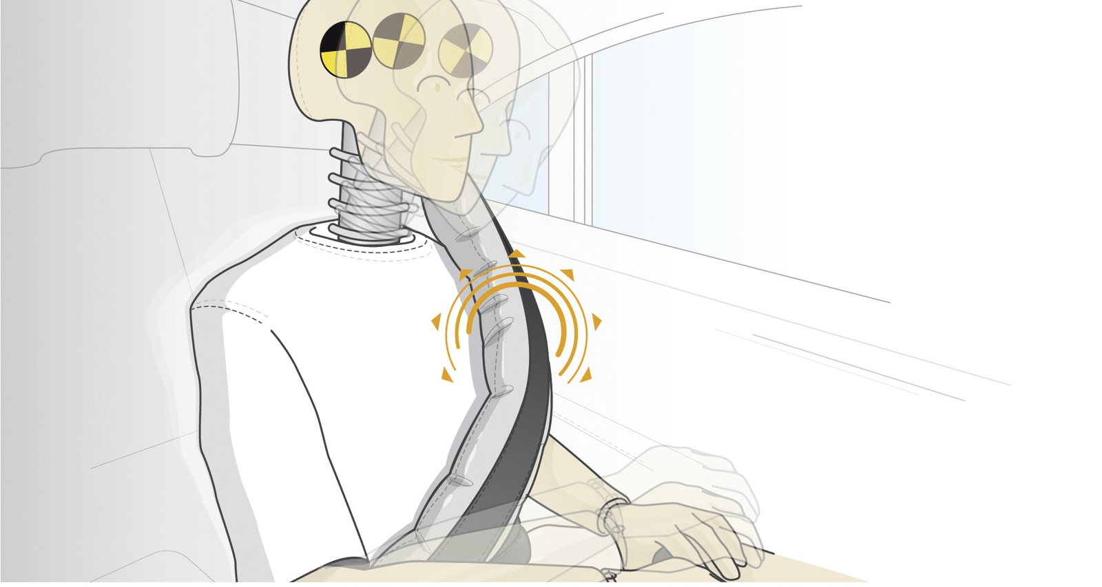 Mercedes benz to adopt rear seatbelt airbags on future for Mercedes benz airbags