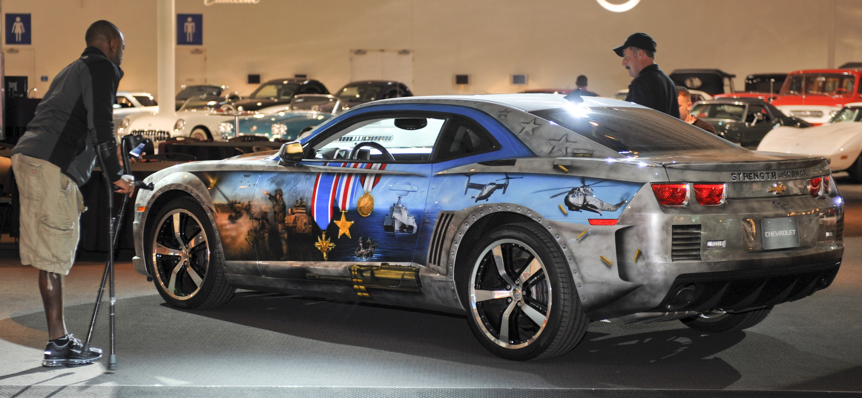 Chevrolet To Donate Military Tribute Edition Camaro