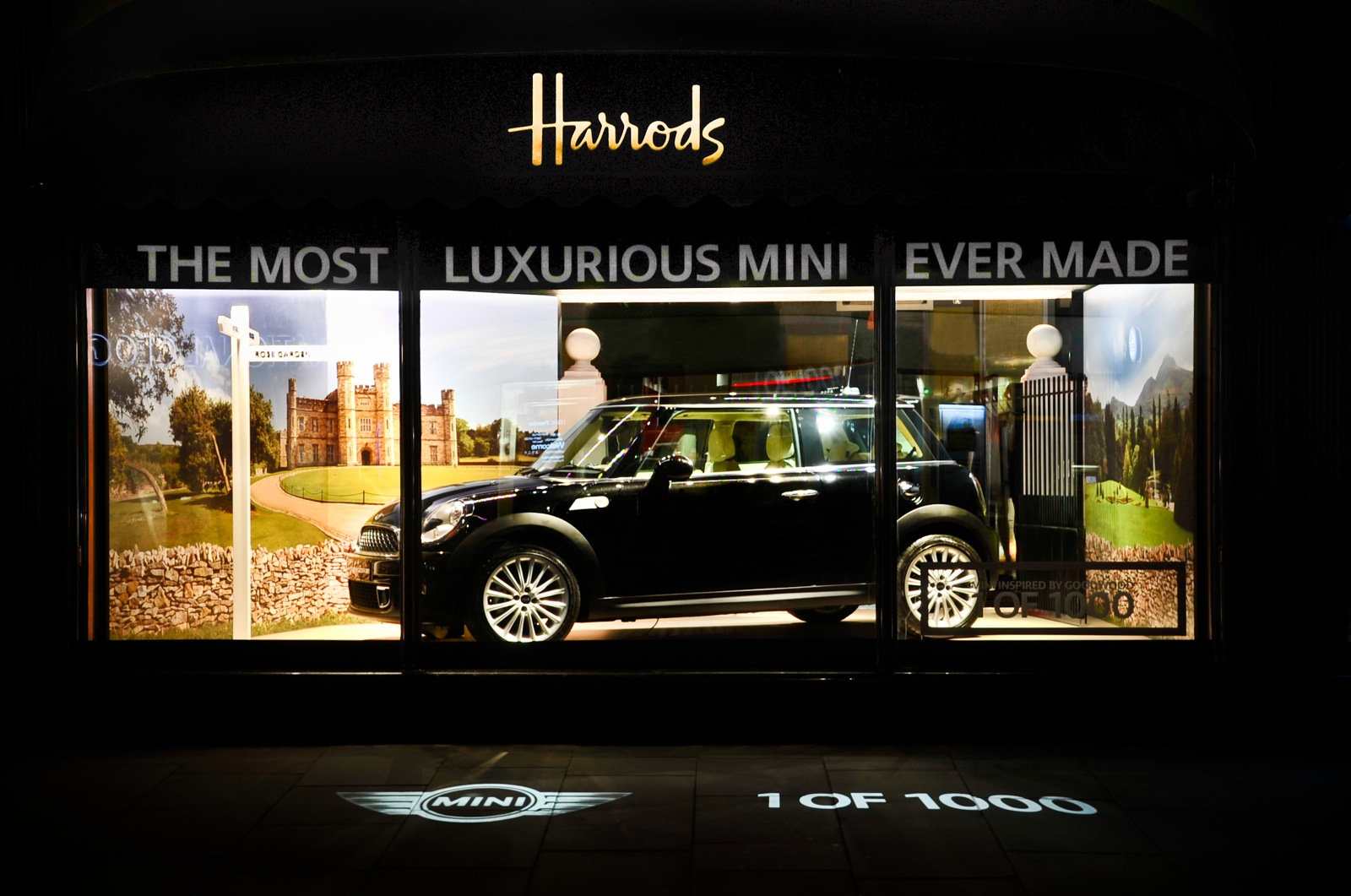 MINI Inspired By Goodwood On Display At Harrods Department