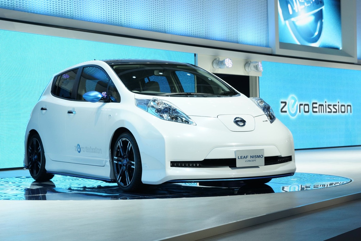 nissan leaf nismo confirmed for production but only in japan. Black Bedroom Furniture Sets. Home Design Ideas
