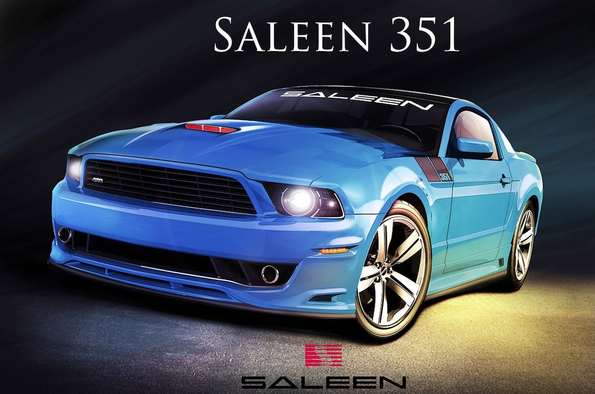 saleen  mustang announced  los angeles