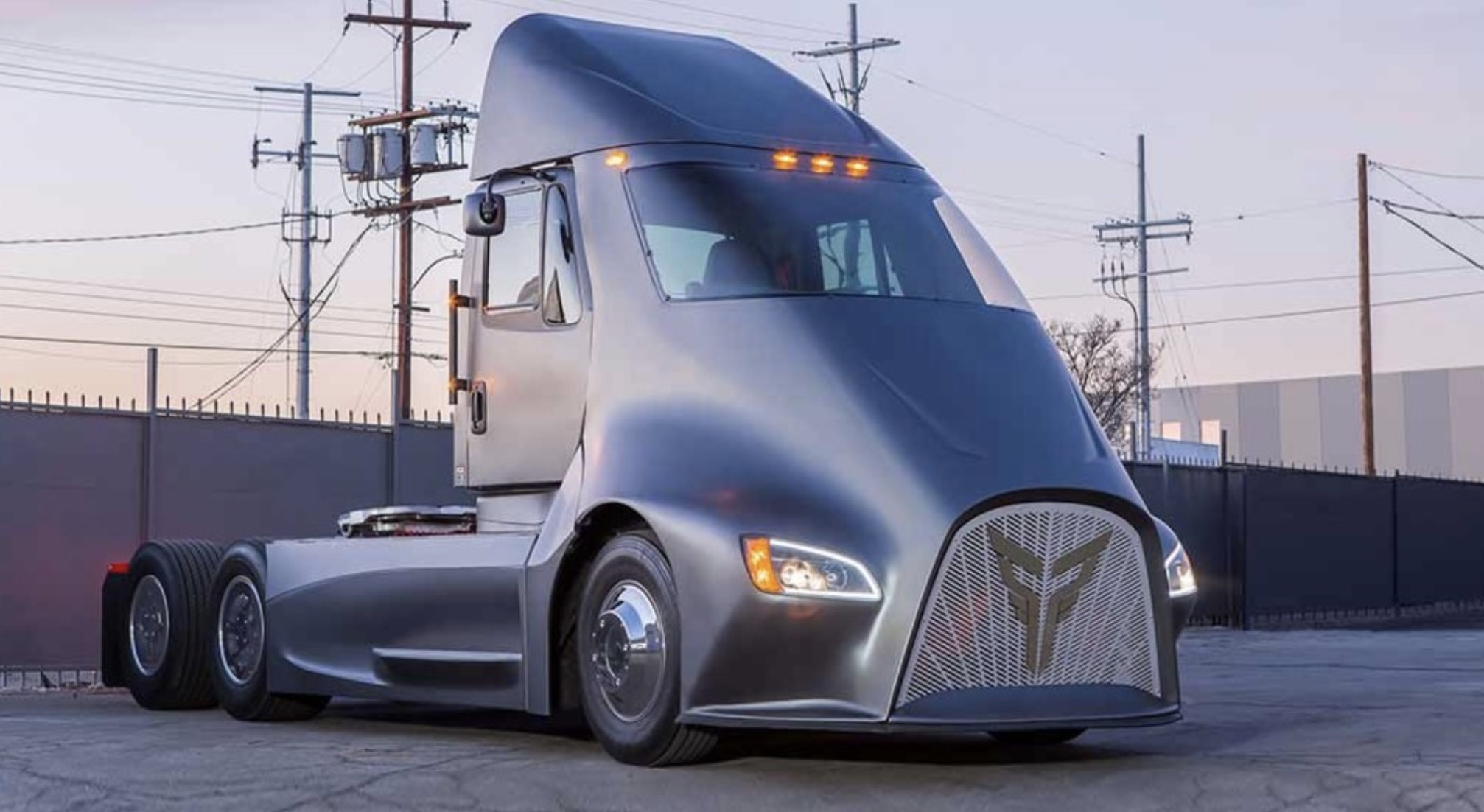 Thor Trucks Reveals Electric Semi Truck To Take On Tesla