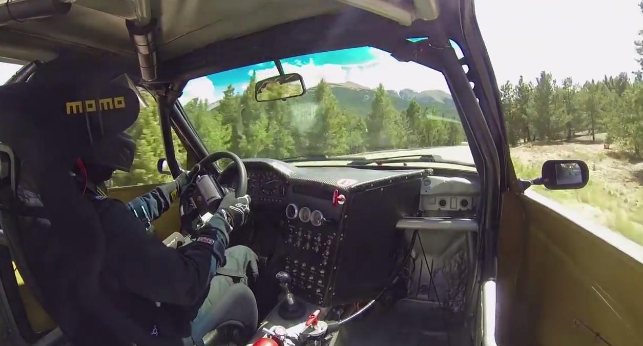 Turbo BMW E30 Screams Up Pikes Peak: Video