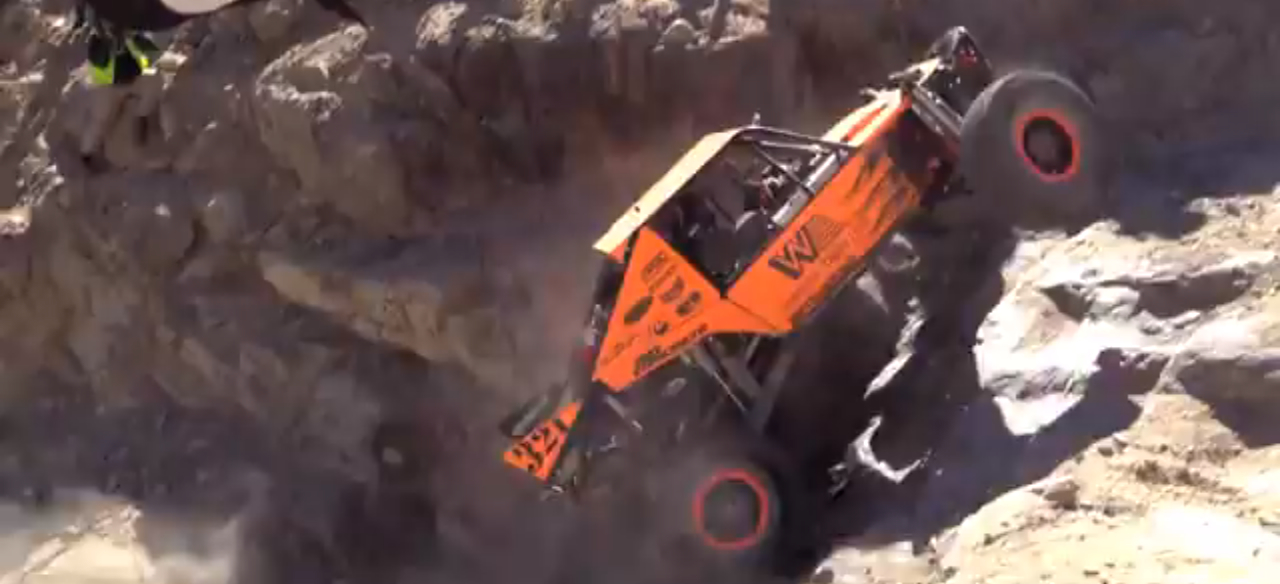 Watch a Truck Drive Up A Rock Face At King Of The Hammers: Video