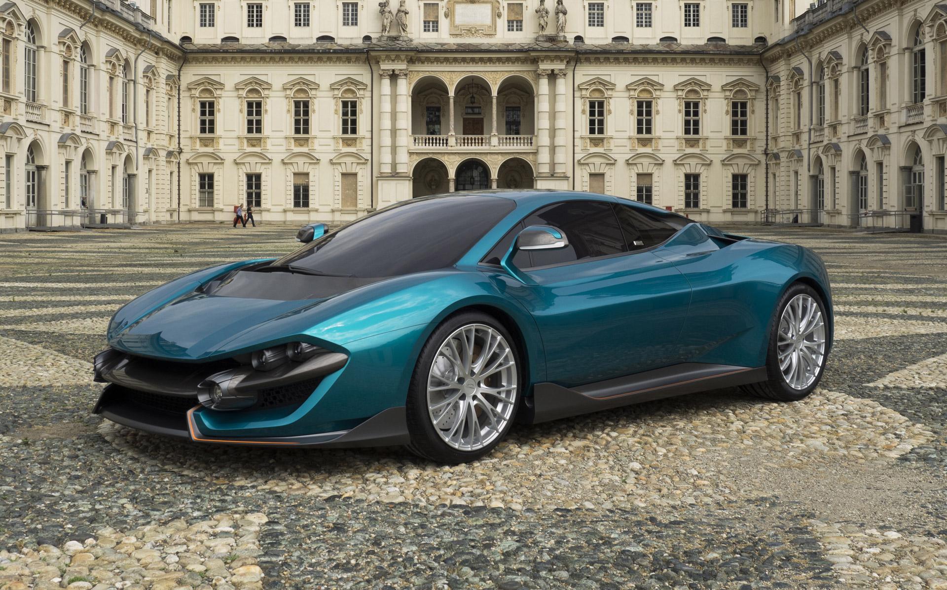 Italy's Torino Design Unveils Wildtwelve Hybrid Supercar Concept