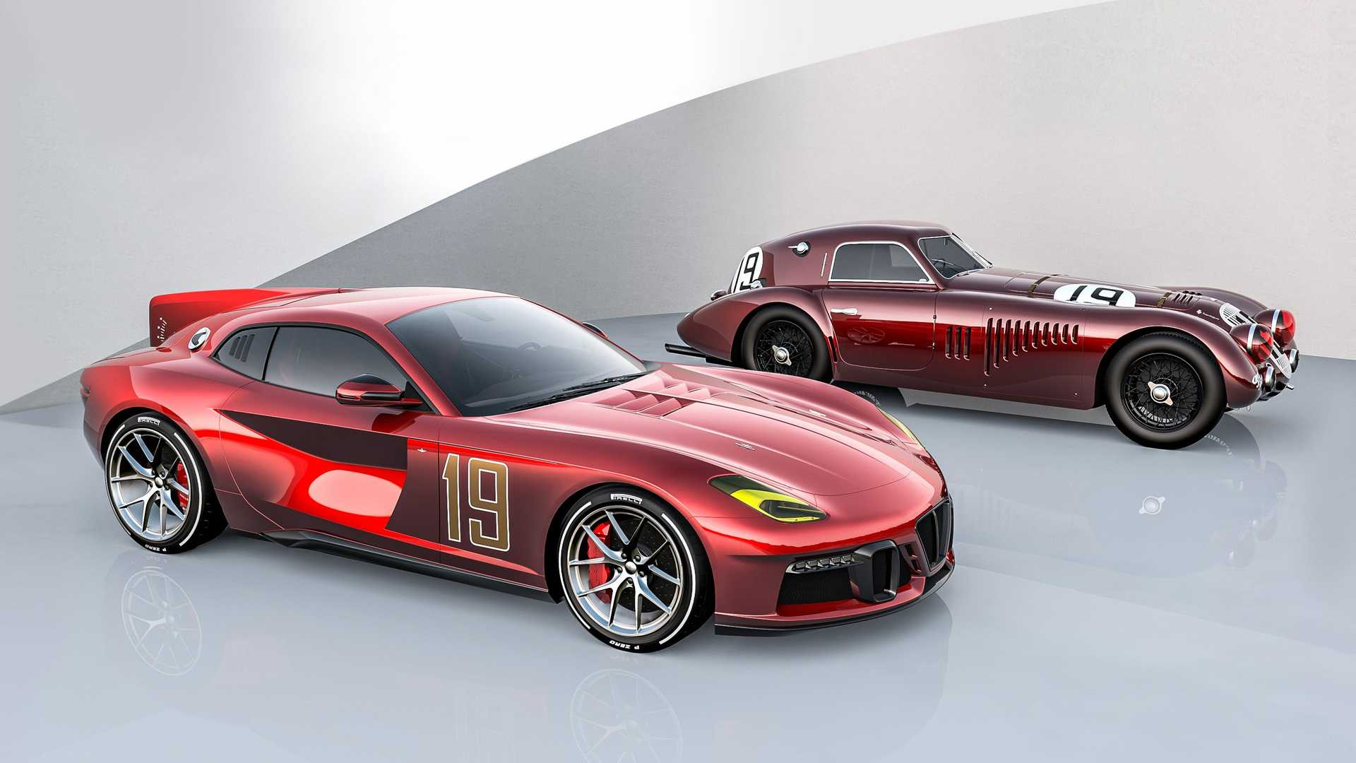 Touring Superleggera reveals Ferrari F12-based Aero 3 coupe