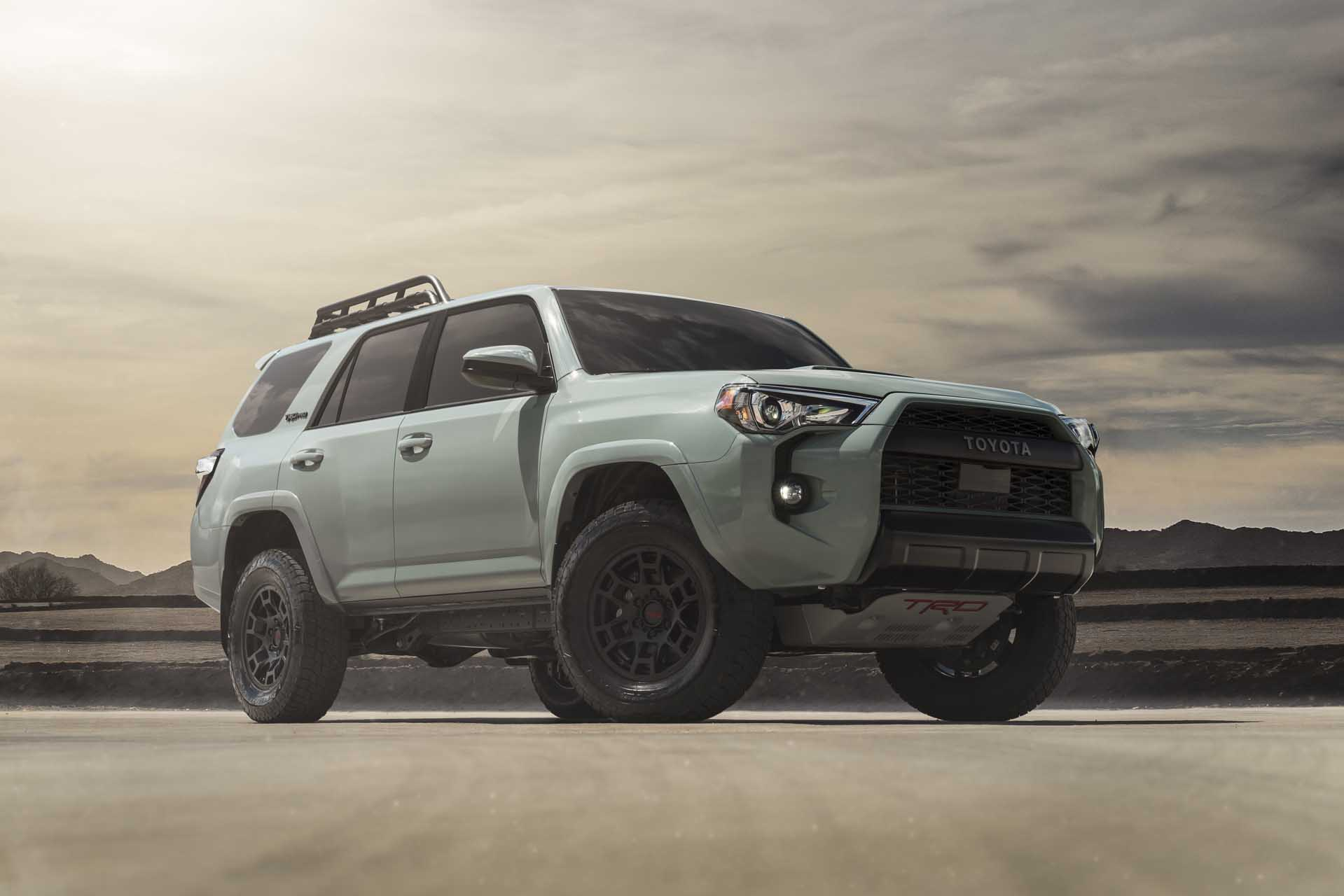 Toyota Updates 4runner Trd Pro Revives Trail Edition For 2021