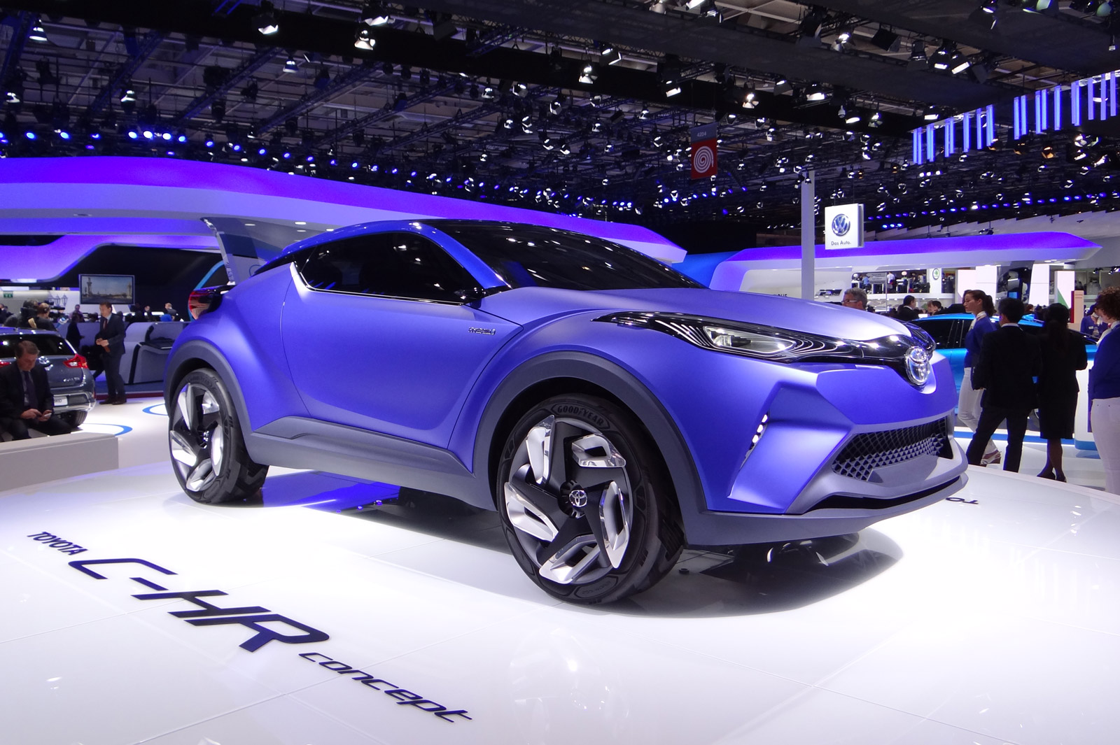 Toyota C-HR concept previews future subcompact SUV