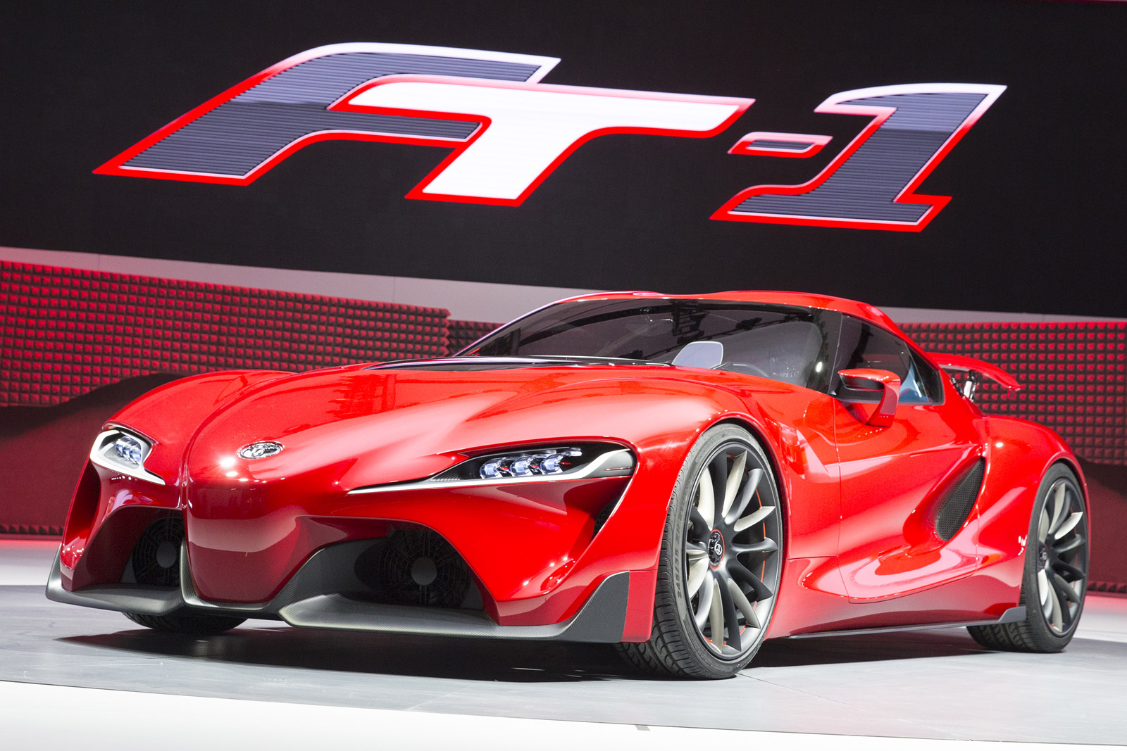 Toyota Ft 1 >> Toyota Ft 1 Concept Supra Successor Hinted At Detroit Show