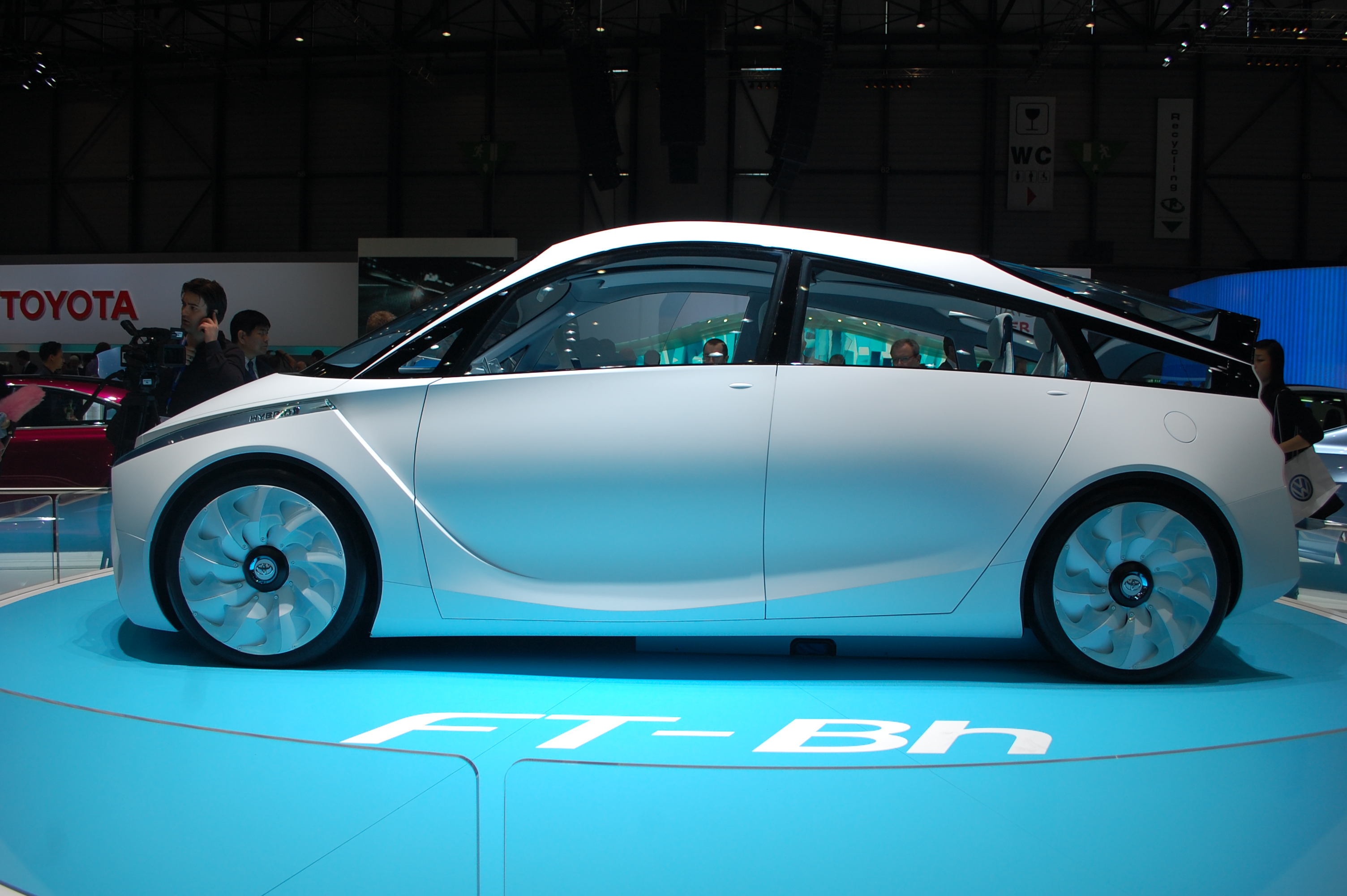 Toyota To Sell FT-Bh Hybrid Subcompact, At 60 MPG-Plus, After 2015
