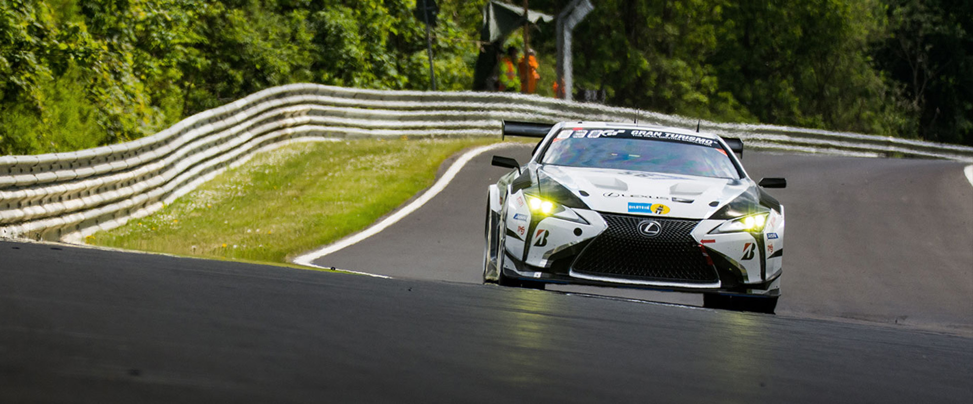 Lexus won't race new twin-turbo V-8 in 2020 24 Hours of Nürburgring
