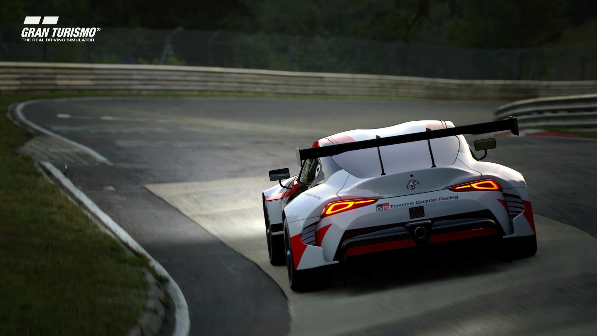 Drive Toyota S Gr Supra Racing Concept In Gran Turismo Sport