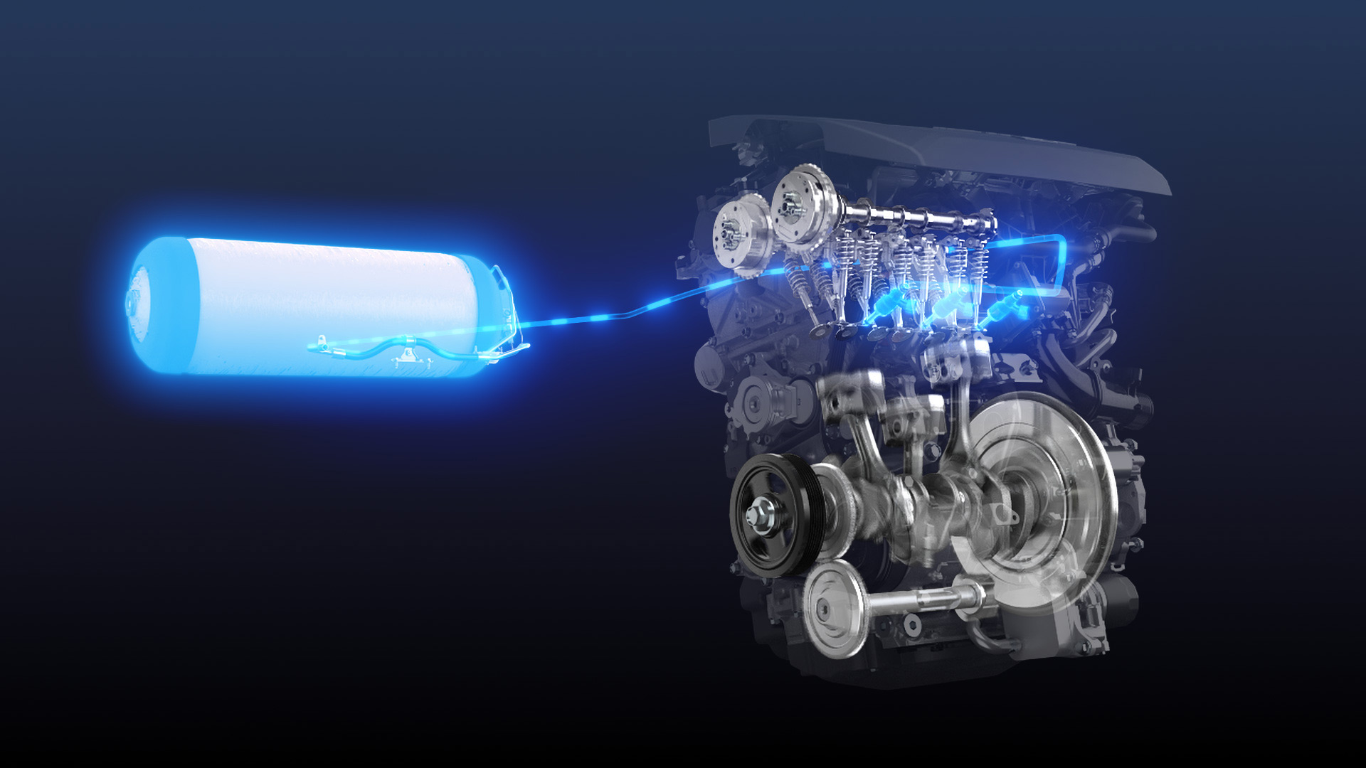 Could hydrogen keep the internal-combustion engine alive?
