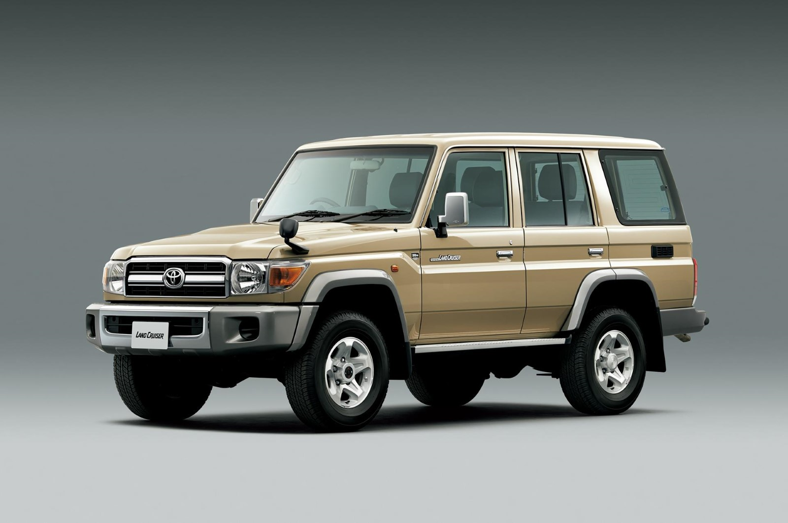 toyota surprises with land cruiser 70 re release. Black Bedroom Furniture Sets. Home Design Ideas