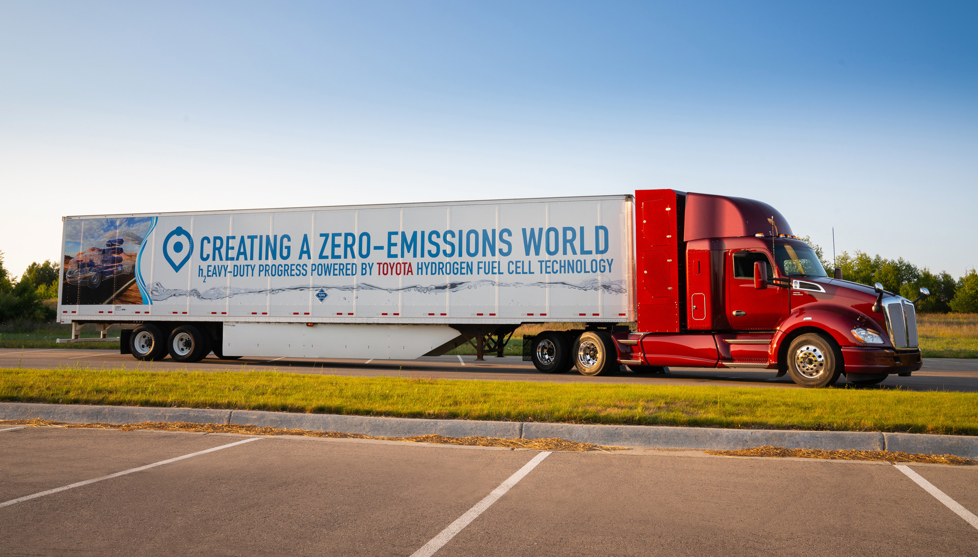 Build A Truck >> Kenworth To Build Semi Trucks Powered By Toyota Fuel Cells