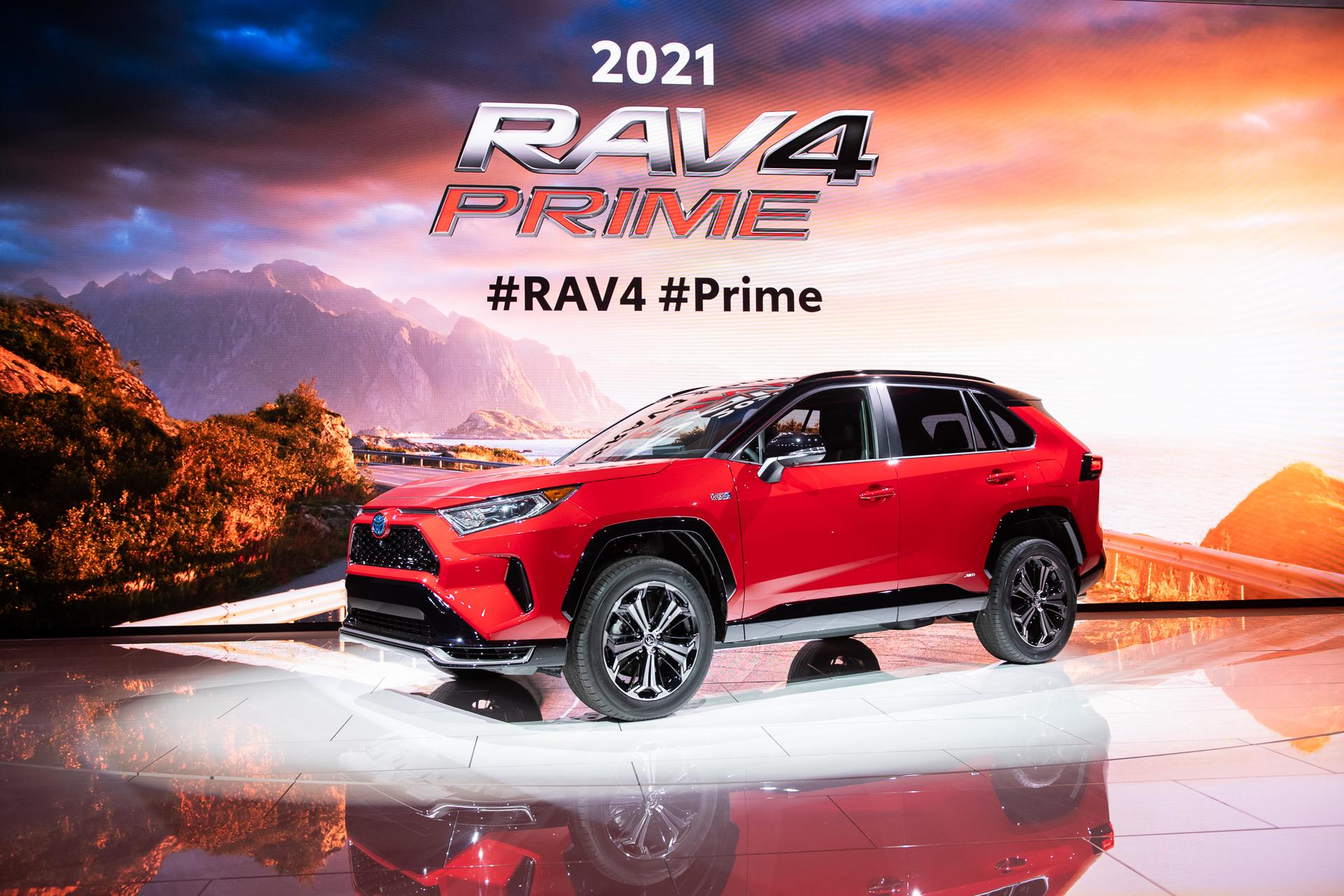 2021 Toyota Rav4 Prime Plug In Hybrid Crossover Suv Will Cost 39 220 To Start
