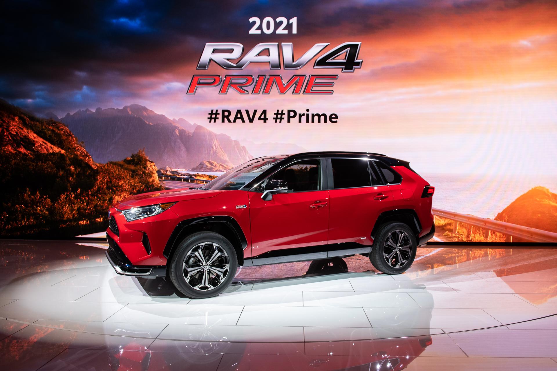 2021 Toyota RAV4 Prime arrives: 39 miles of electric range ...