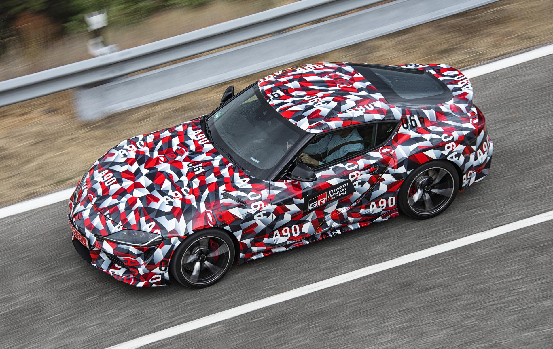 Toyota Supra To Be Built Alongside Bmw Z4 At Austrian Plant