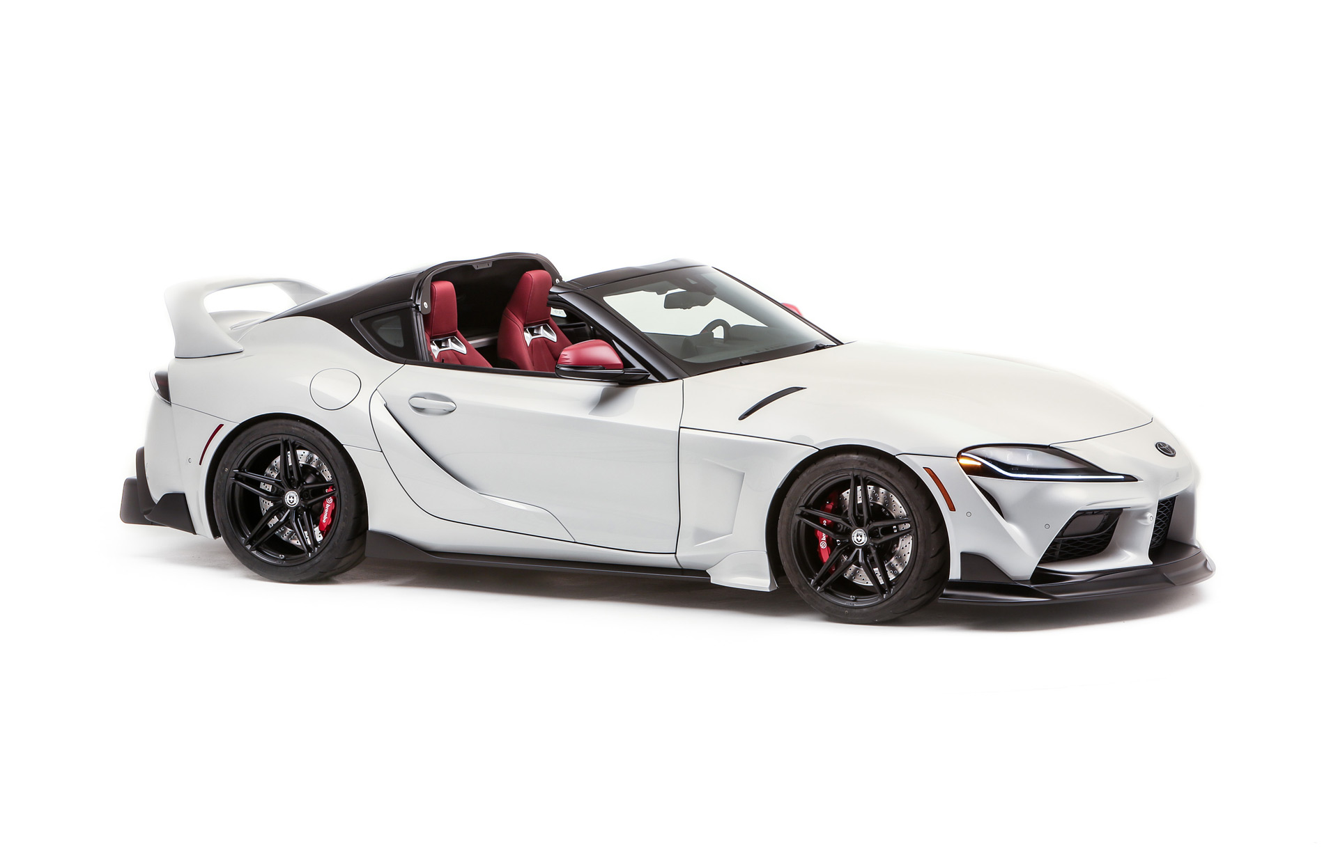 Toyota Supra targa concept developed for SEMA is just begging to be built
