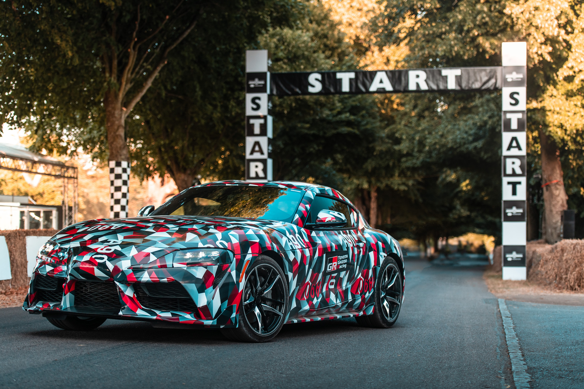 New Toyota Supra Makes Dynamic Debut At Goodwood Festival Of Speed - Goodwood hardware car show