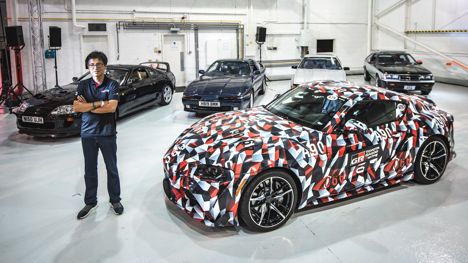As The Years Go By All 5 Toyota Supra Generations Together For