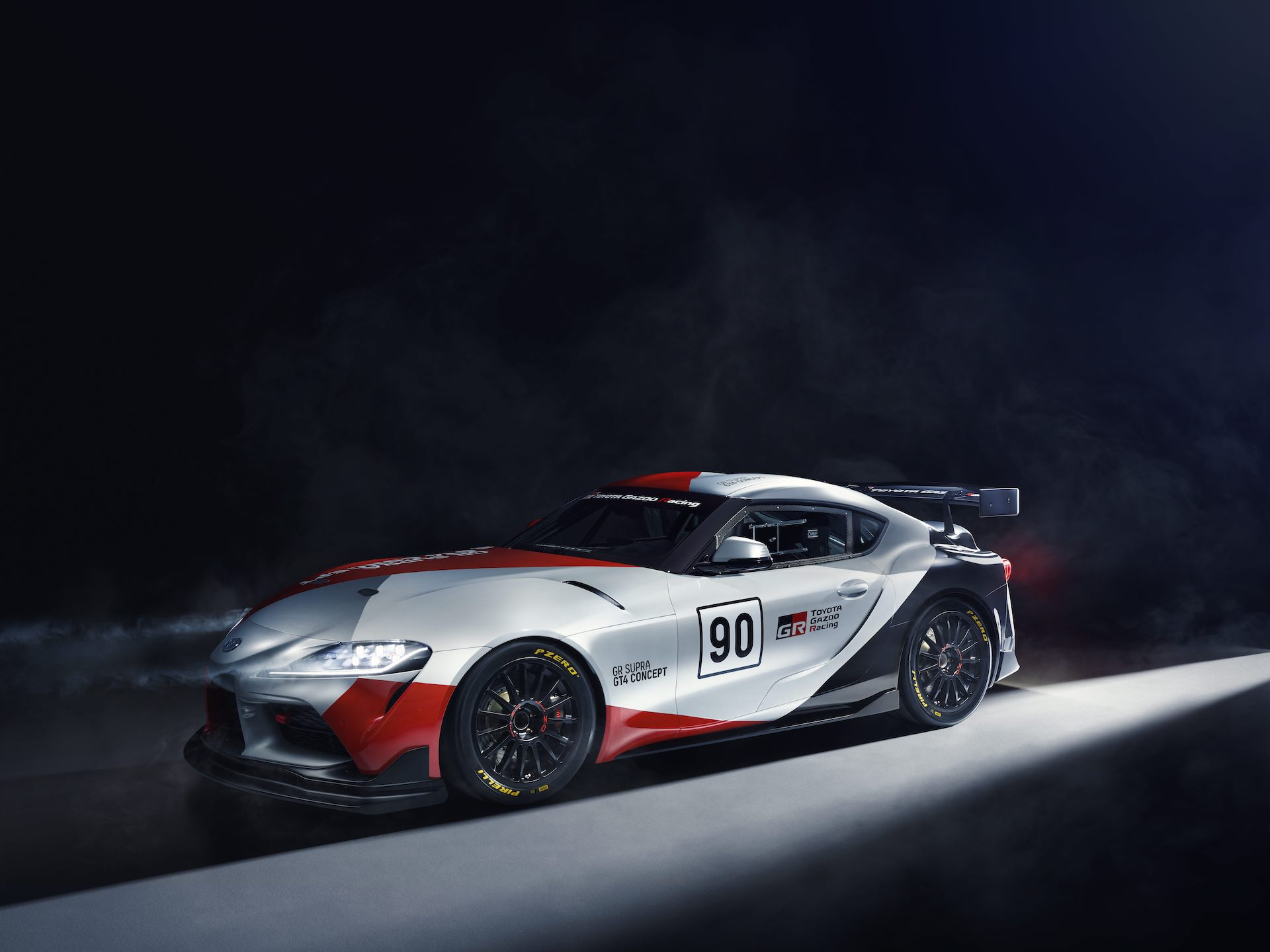 toyota supra gt4 concept previews a possible customer race car