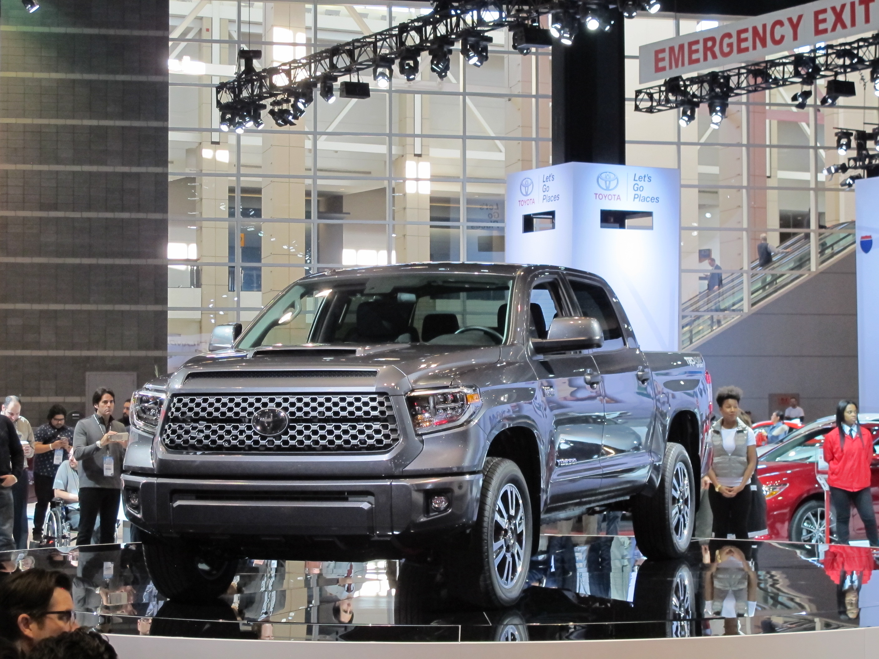 Toyota Sequoia Tundra Get TRD Sport Trim At Chicago Auto Show - Toyota show car