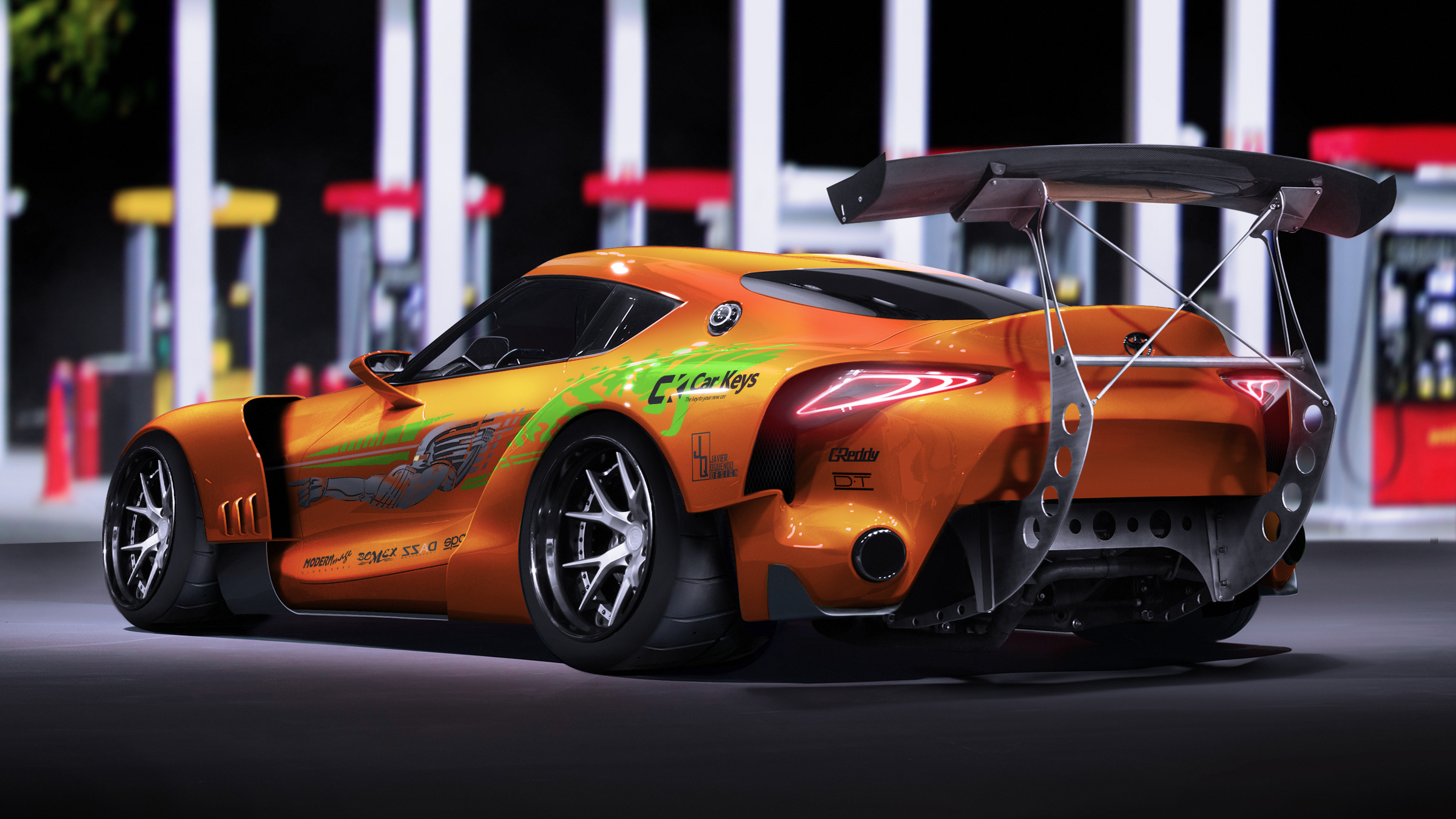 The Fast and the Furious\' liveries applied to modern equivalents ...