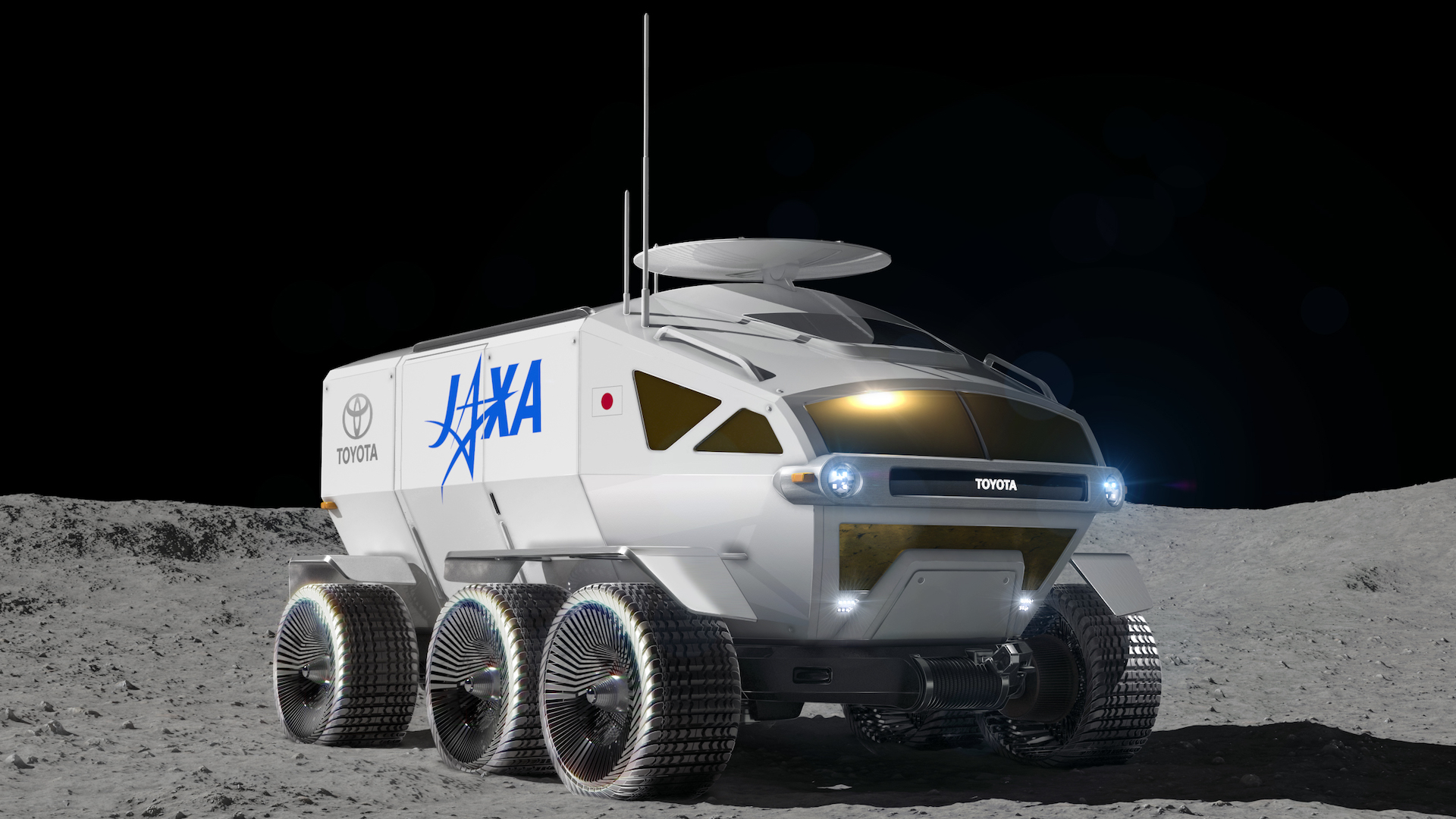 Toyota Lunar Cruiser could take hydrogen fuel-cell tech to the moon