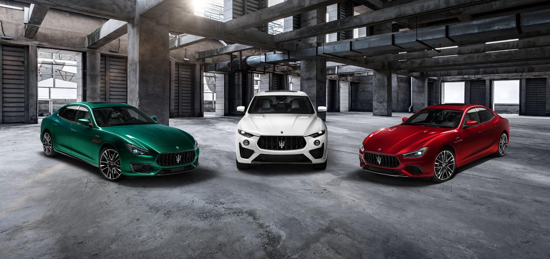 Hardcore Trofeo versions of Maserati Ghibli, Quattroporte arrive with V-8 power