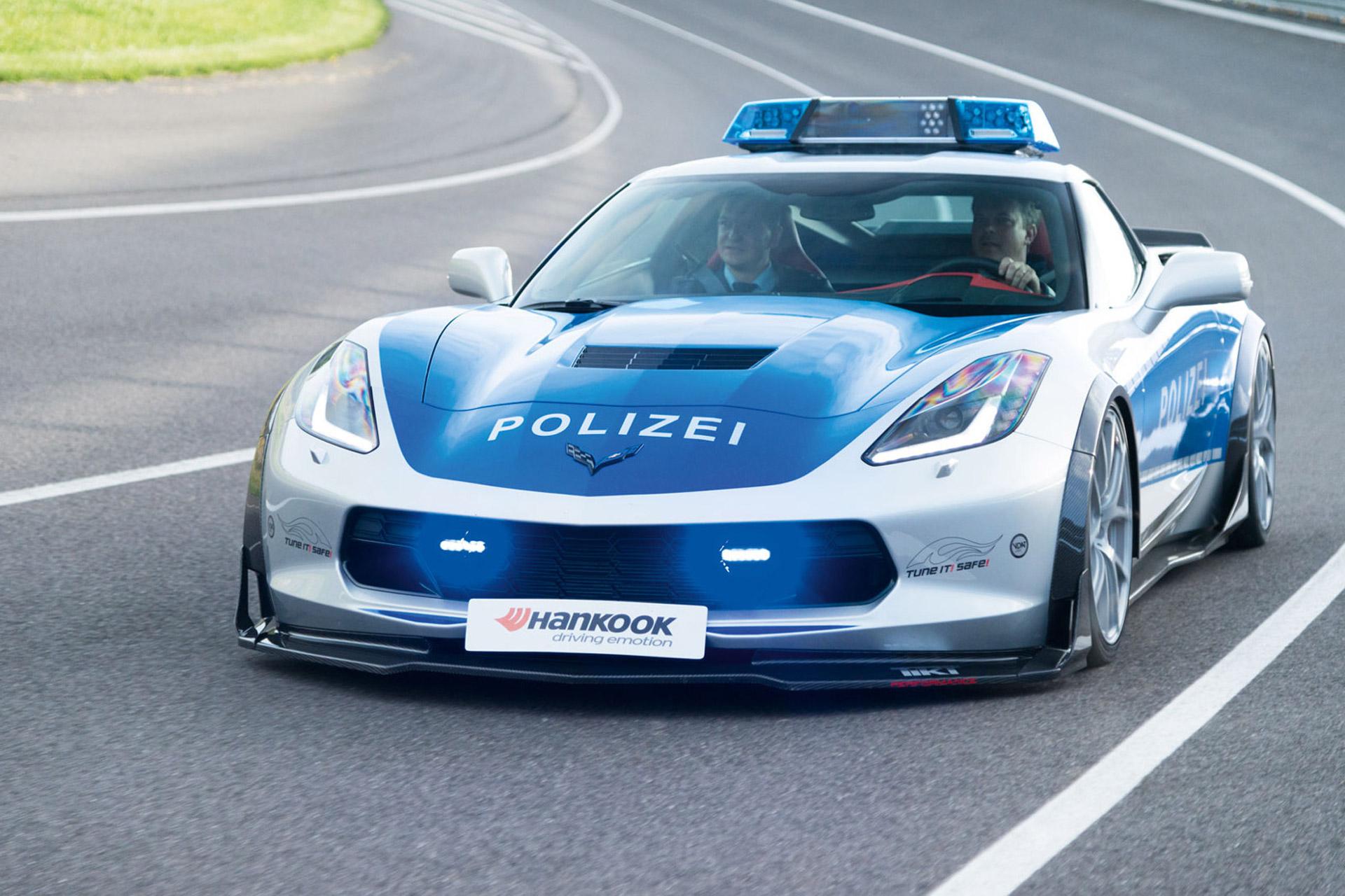 Tune It Safe Chevy Corvette Impresses At Essen Motor Show
