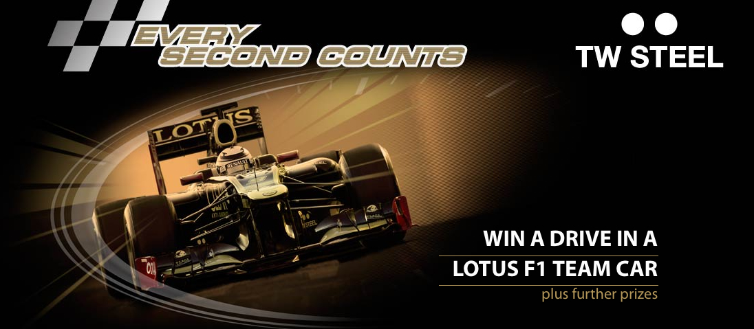 Want To Win A Chance To Drive A Lotus F1 Car?