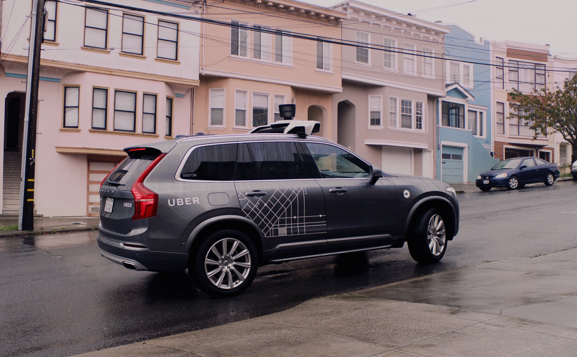 uber self-driving car prototypes back on the road 9 months after