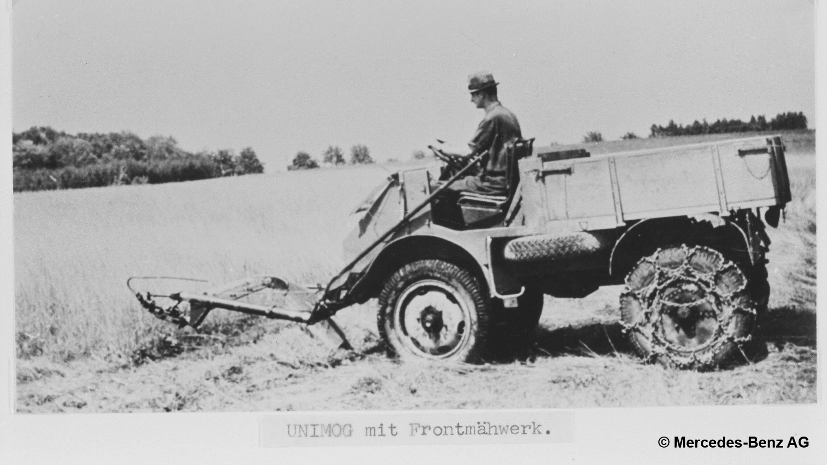 Deep dive: The Mercedes-Benz Unimog was originally meant to be a tractor