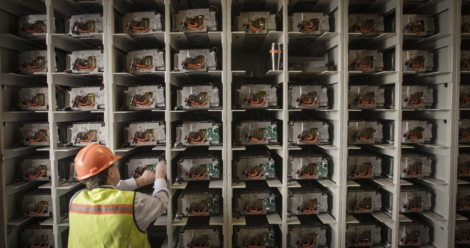 Used Toyota Hybrid Batteries Repurposed At Yellowstone National Park