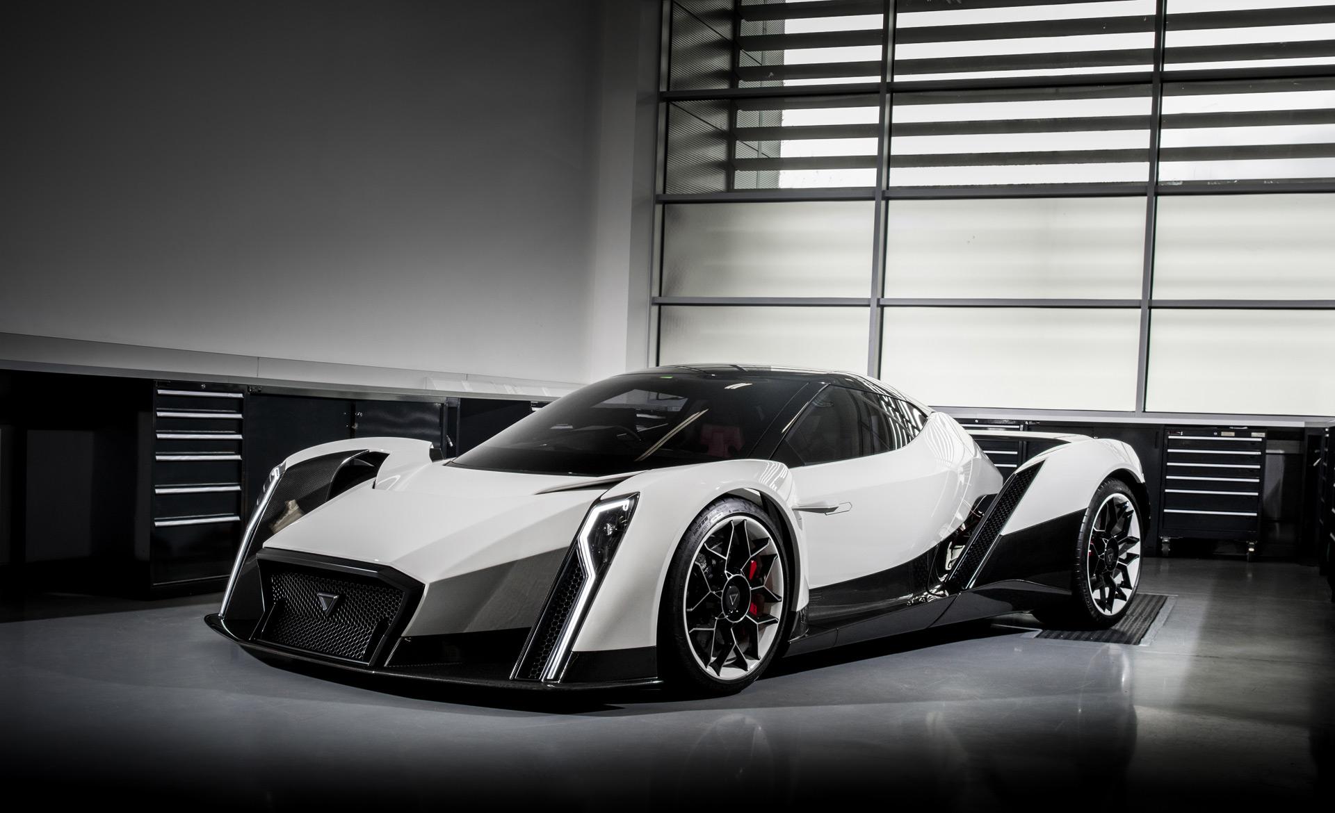 Vanda Dendrobium electric supercar concept debuts in Geneva