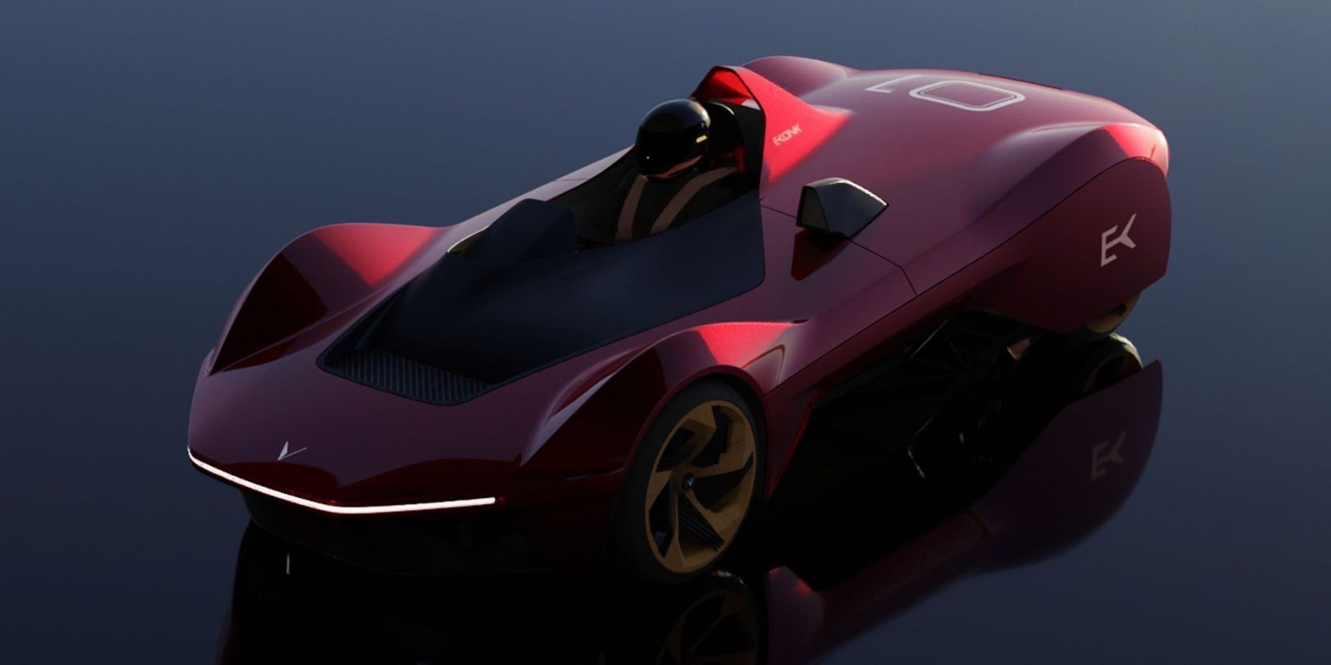 Vazirani returns with electric speedster that's lighter than a Miata