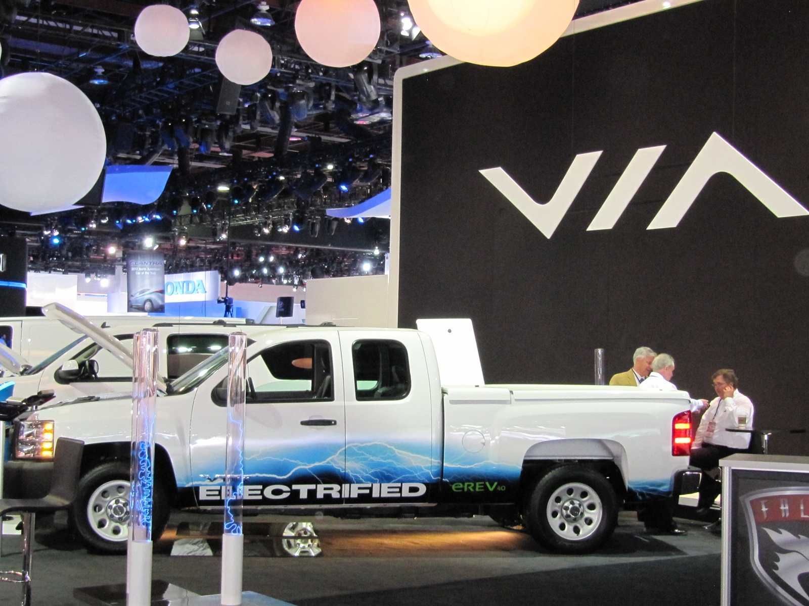 what would you pay for a 100 mpg via full size pickup truck. Black Bedroom Furniture Sets. Home Design Ideas