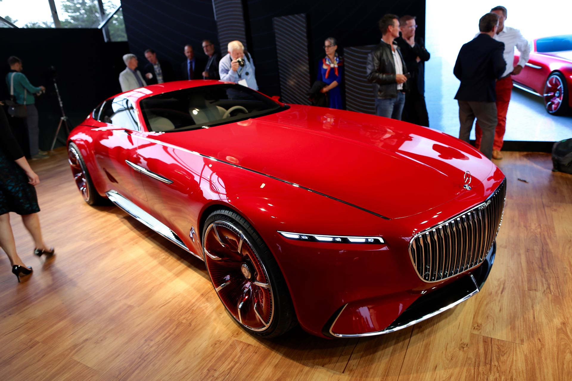vision mercedes maybach 6 concept is a mega electric coupe. Black Bedroom Furniture Sets. Home Design Ideas