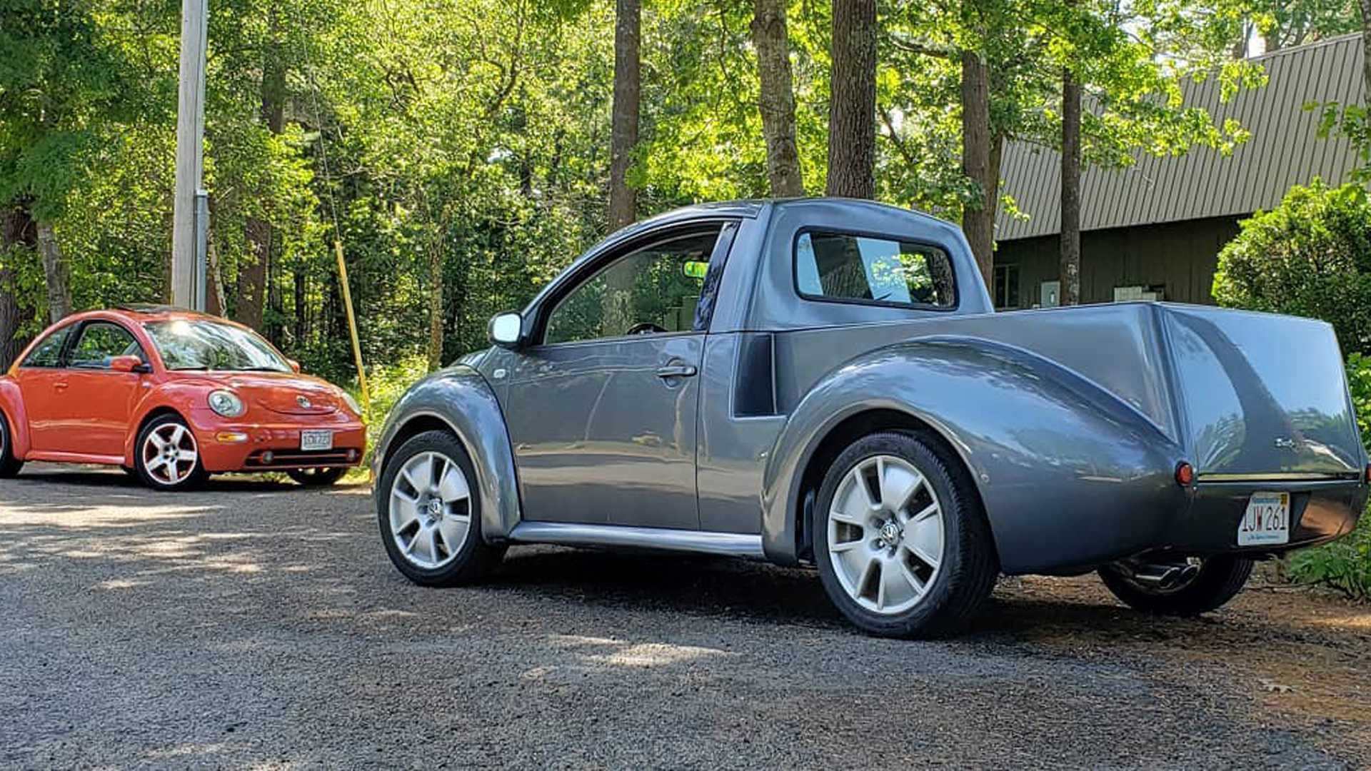 Cutesy Vw New Beetle Truck Conversion Available For Diyers