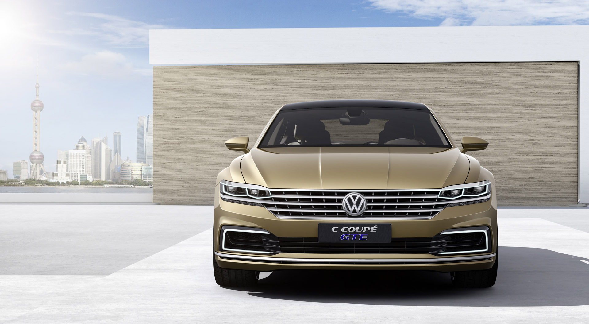 Next Gen Volkswagen Phaeton S Design Previewed By C Coupe Gte Concept