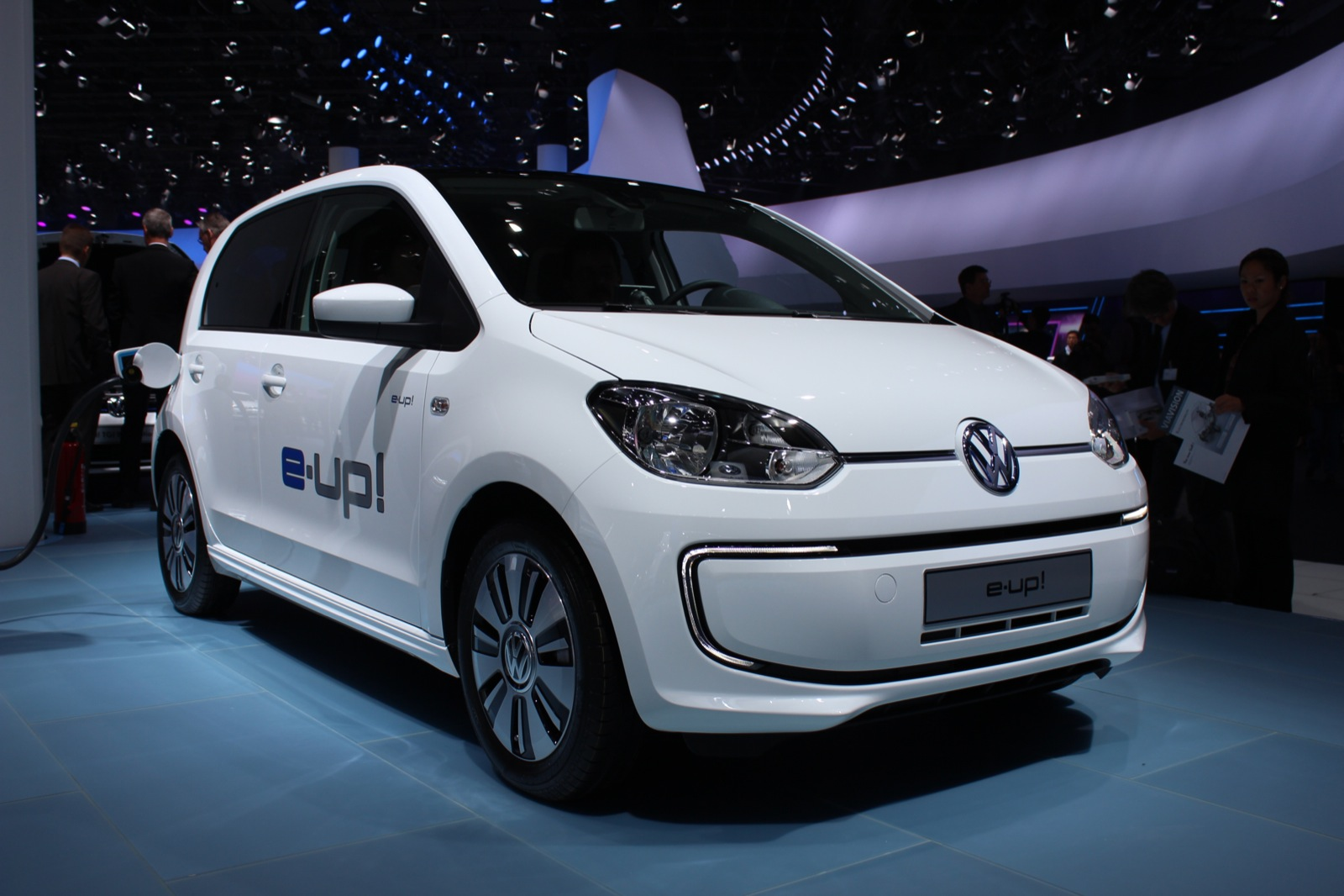 Volkswagen E Up Electric Car Live Photo Gallery 2013 Frankfurt Auto Show