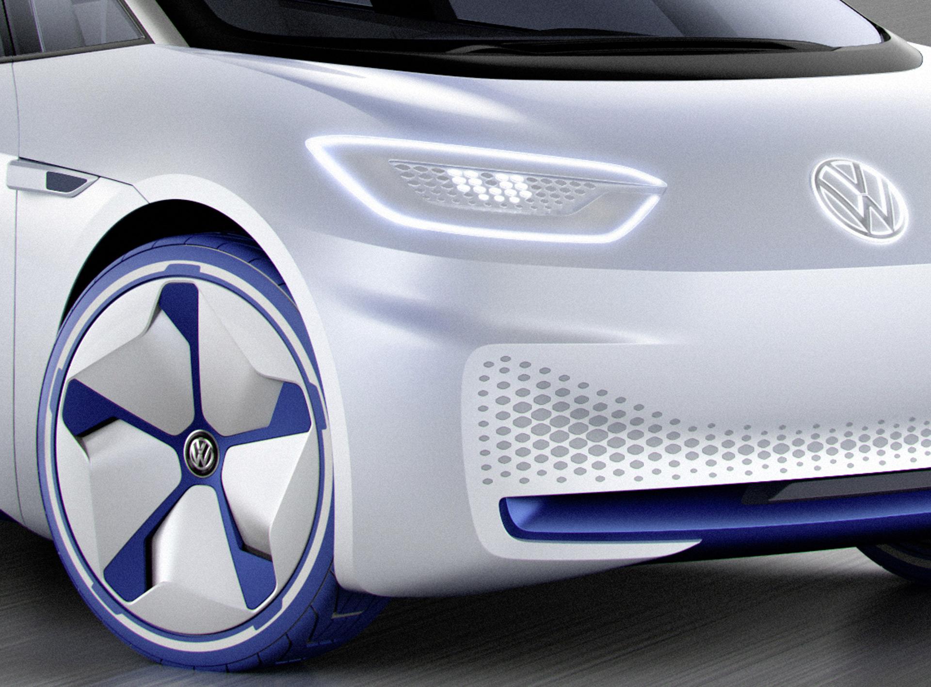 Vw Electric Car Concept Tesla Model S Race Car National