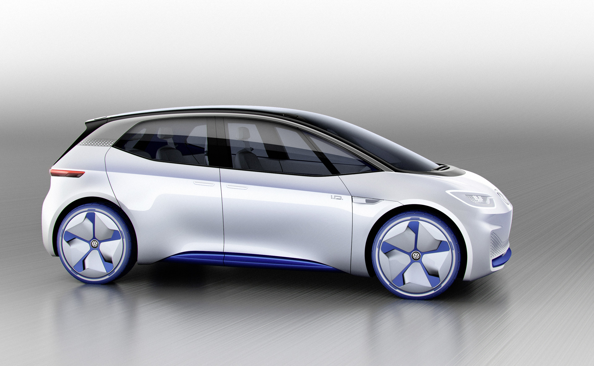 Vw Shows Renderings Of Id Electric Car Concept For Paris Motor Show