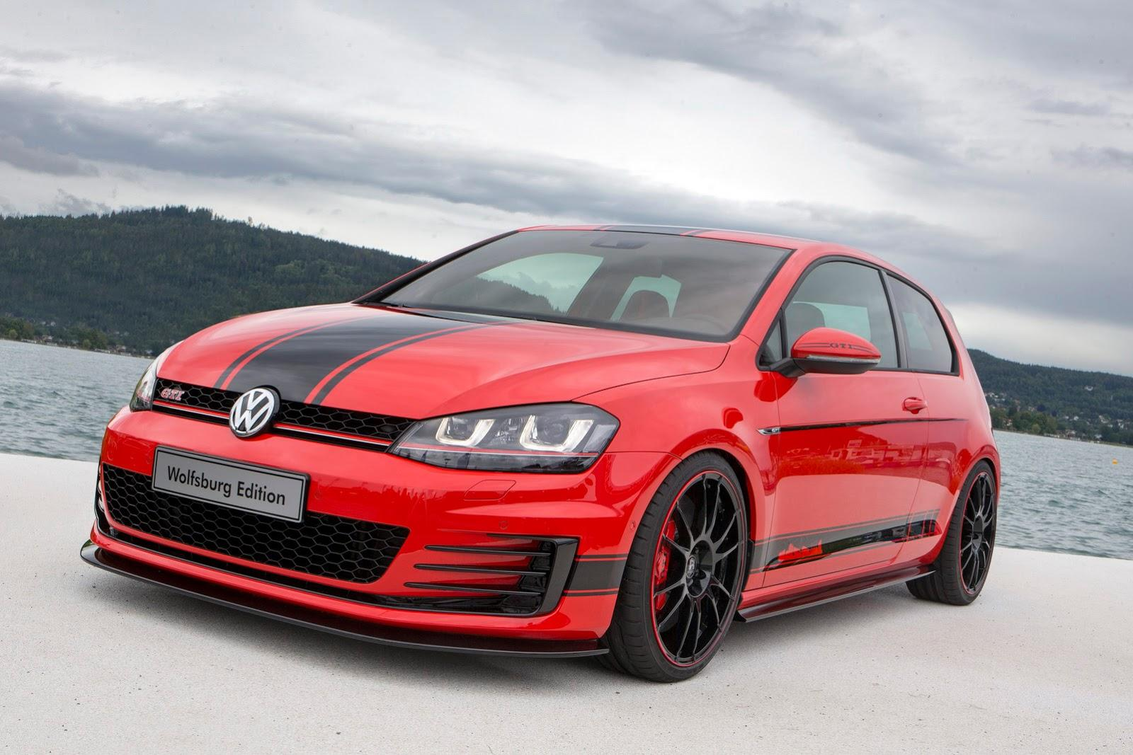 vw gti wolfsburg golf sportwagen concepts star  woerthersee
