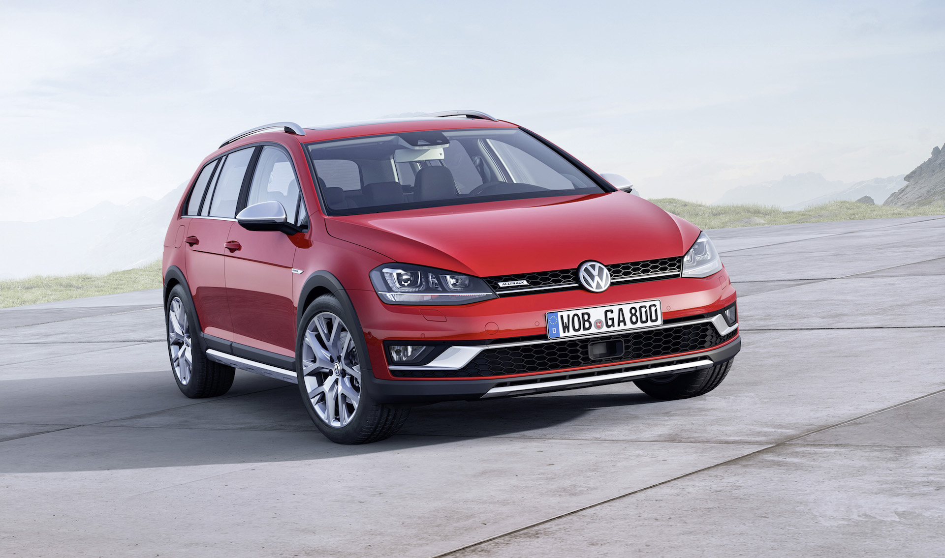 Review of the Volkswagen Golf Alltrack 2015-2016 model year