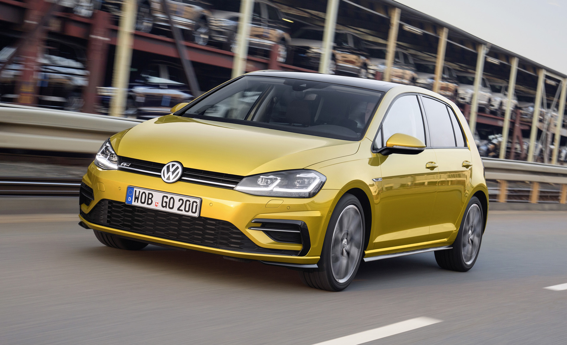 2018 Volkswagen Golf debuts with more power tech